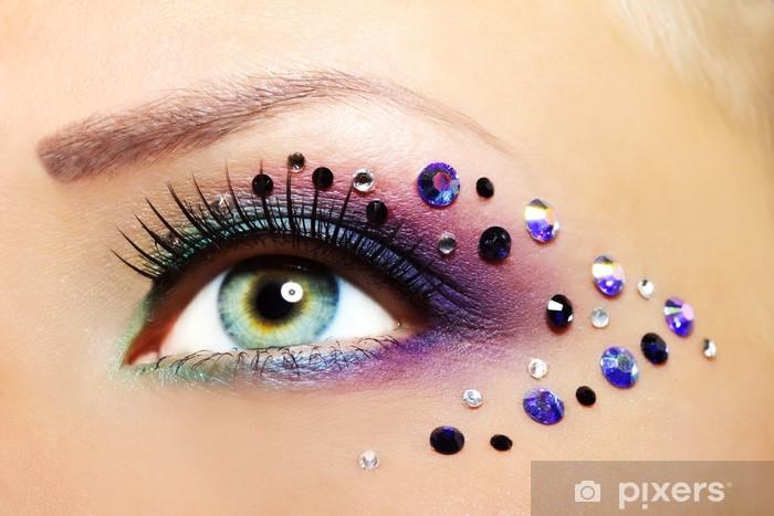 Fototapeta winylowa Piękny makijaż oczu - Tematy