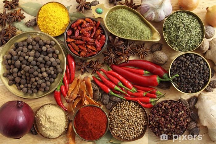 Fotomural Estándar Especias y hierbas - Para la cocina