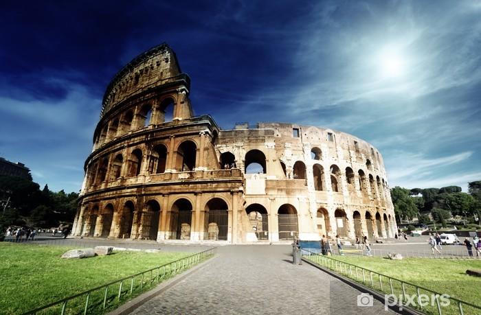 Nálepka Pixerstick Koloseum v Římě, Itálie - Témata