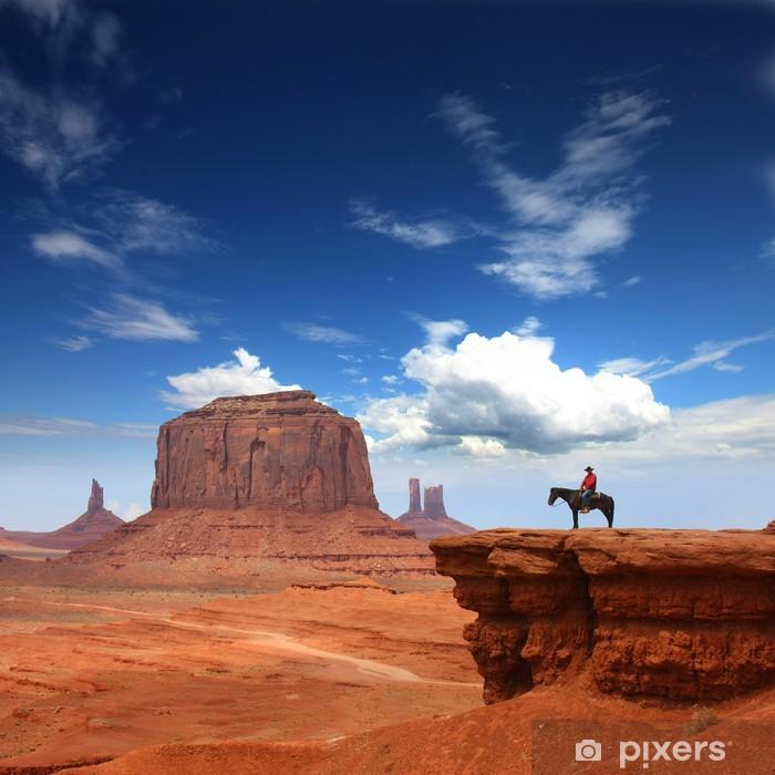 Monument Valley Framed Poster - Desert