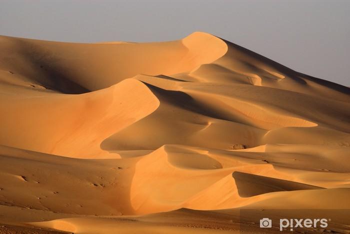 Fototapeta winylowa Wydmy pustyni w Abu Dhabi - Tematy