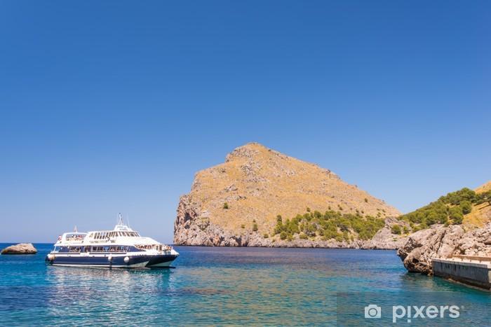 Fotomural Estándar Laguna en la costa de las islas de Mallorca Baleares - Europa
