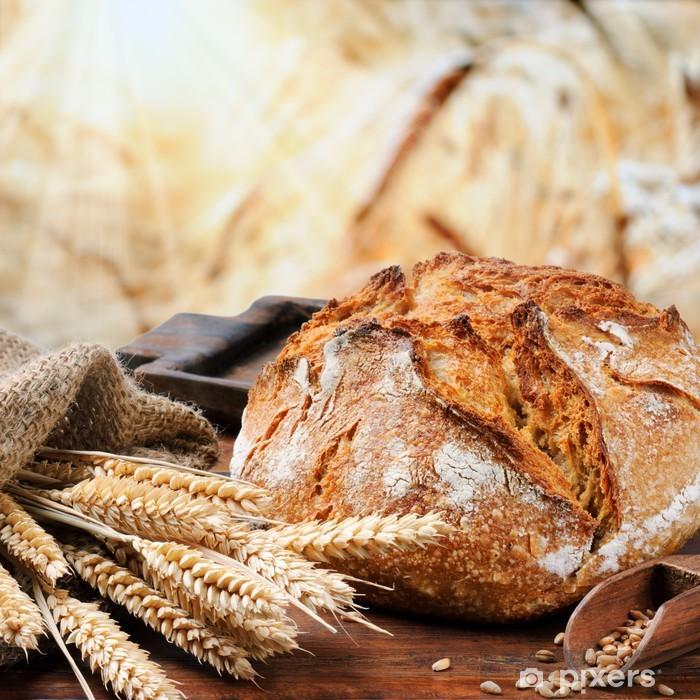 Fototapeta winylowa Świeżo upieczony chleb tradycyjny - Tematy