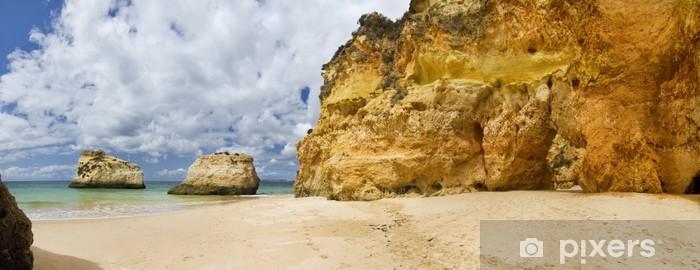 Naklejka Pixerstick Cudowny portugalski beach - Europa