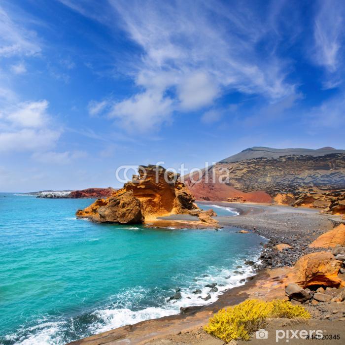 Fototapeta winylowa Lanzarote El Golfo Jezioro kliknięcia - Tematy