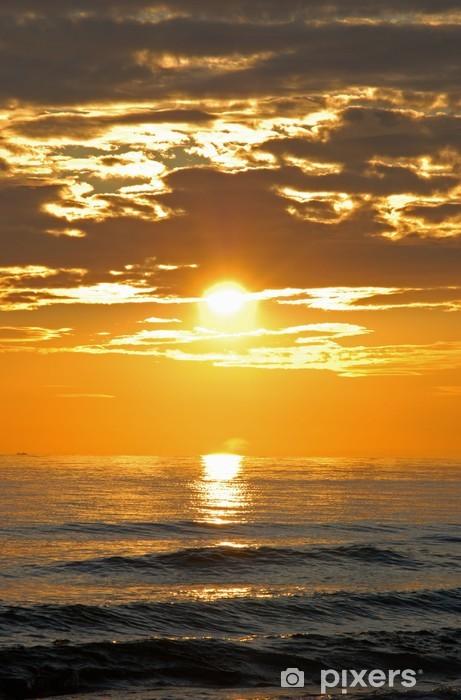 Papier peint vinyle Coucher du soleil de la Méditerranée, Sitio Photo © Arena Royaume-Uni - Europe