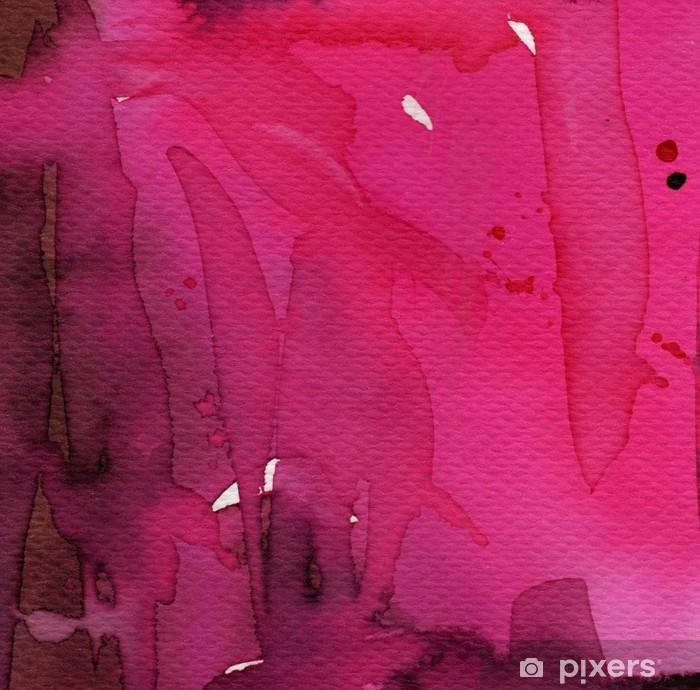 Vinyl-Fototapete Künstlerische Aquarell-Hintergrund, - Zeichen und Symbole