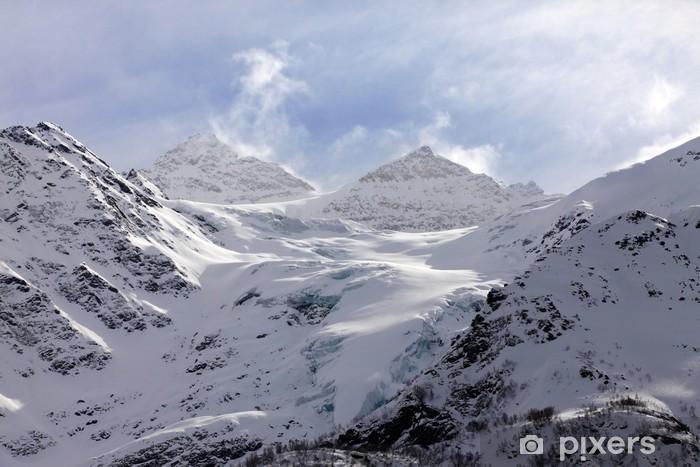 Naklejka Pixerstick Góry - Azja
