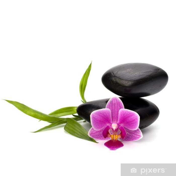 Zen pebbles balance. Spa and healthcare concept. Pixerstick Sticker - Lifestyle>Body Care and Beauty