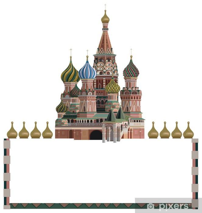 Naklejka Pixerstick Kreml - Miasta azjatyckie