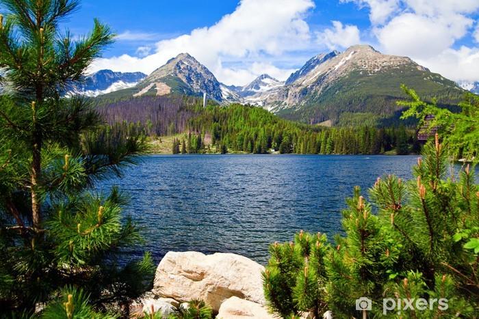Fototapeta winylowa Jezioro w Słowacji - Tematy