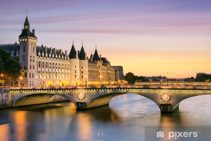 Vinil Duvar Resmi Paris, Conciergerie -