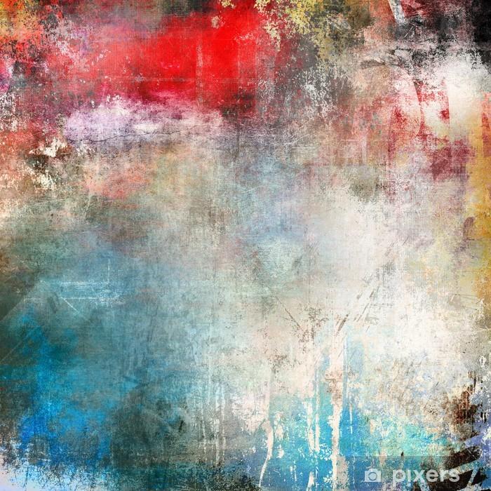 33714b33 Fototapet Art grunge bakgrunn, fargerik illustrasjon • Pixers® - Vi ...