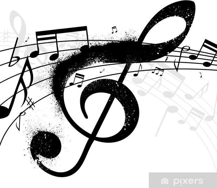 Carta Da Parati Chiave Di Violino Pixers Viviamo Per Il Cambiamento