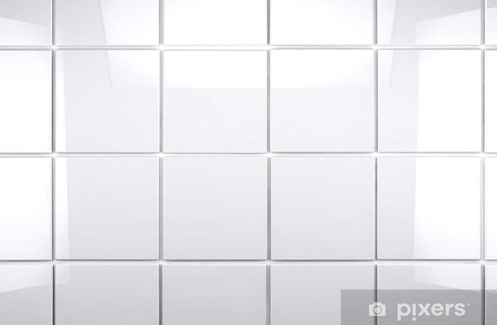 Stickers Voor Tegels : Sticker achtergrond van heldere witte tegels u pixers we leven