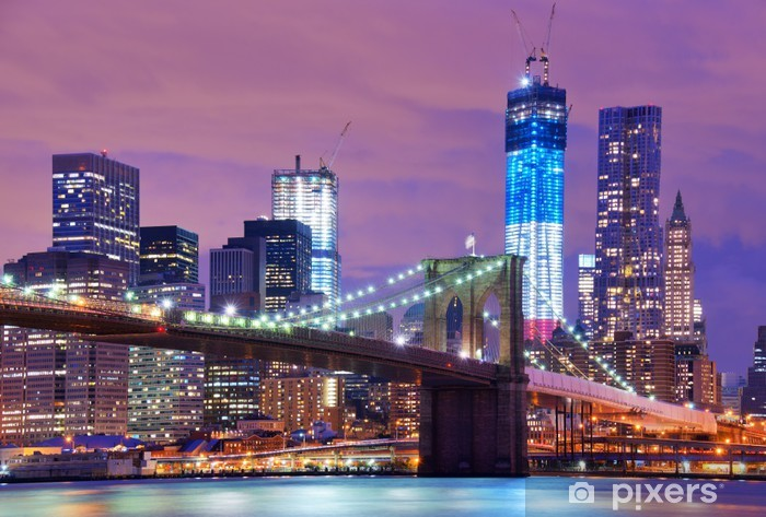 Fototapeta winylowa Brooklyn Bridge - Tematy