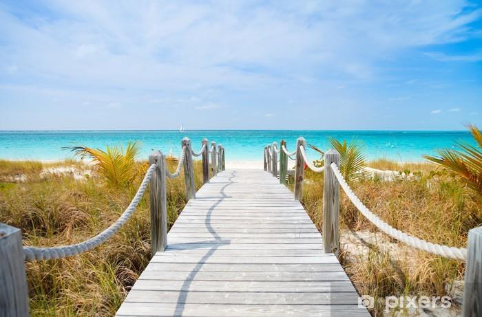 Fototapeta winylowa Karaiby plaży - Tematy