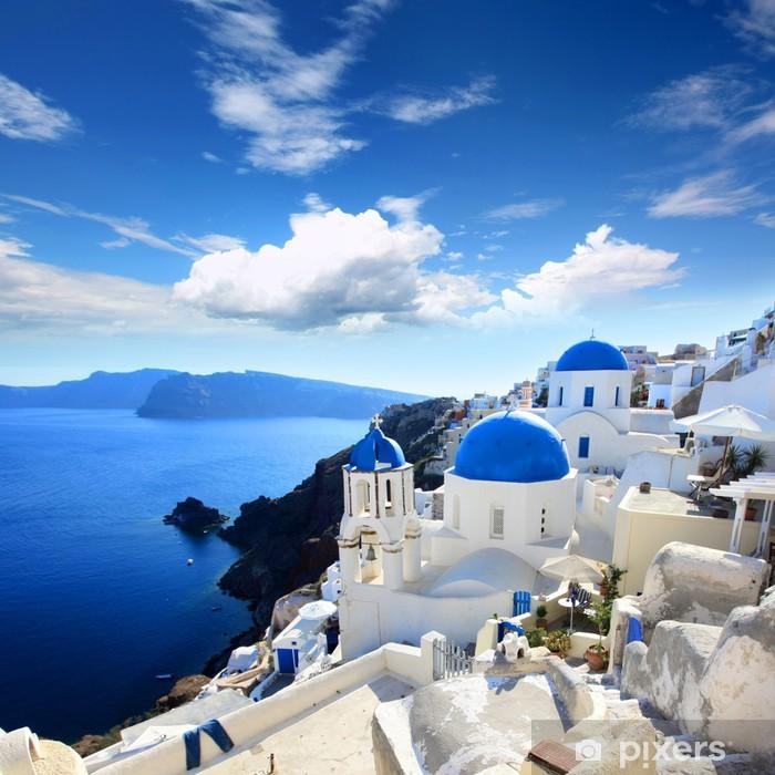 Fotomural Estándar Grecia - Santorini (Oia village) - Temas