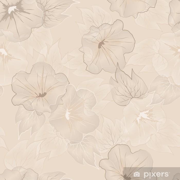 Naklejka na drzwi Wektor kwiatowy wzór - Zasoby graficzne