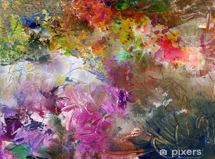 Fototapeta winylowa Malowanie tekstur Highres -