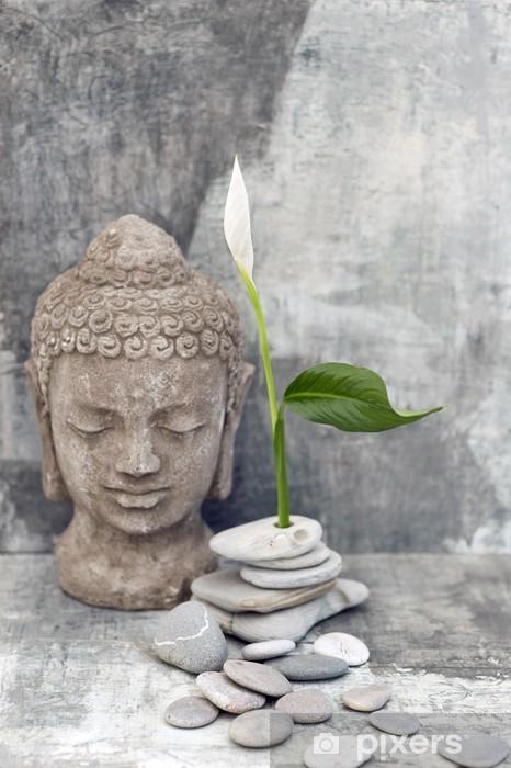 Pixerstick Aufkleber Buddha Hintergrund - Themen