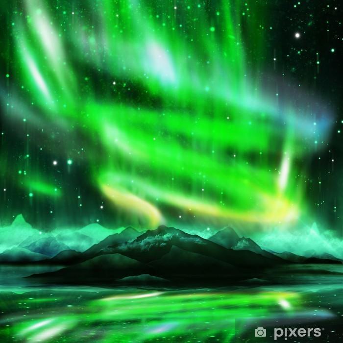 Fotomural Estándar Aurora borealis - Temas