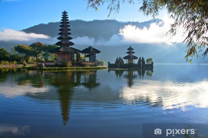 Peaceful view of a Lake at Bali Indonesia Vinyl Wall Mural - Themes