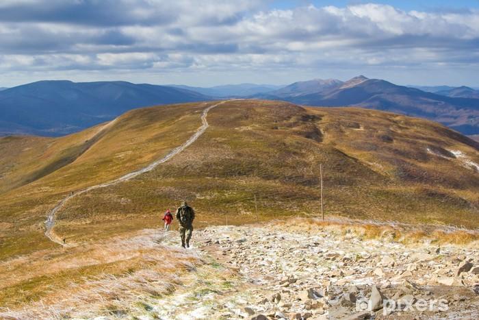 Pixerstick Aufkleber Herbst in den Bergen - Europa