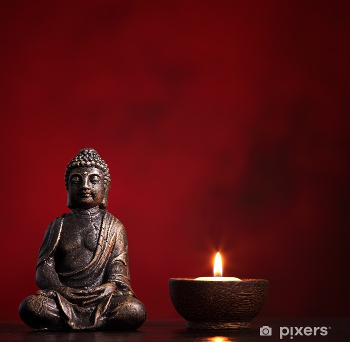 Buddha Pixerstick tarra -
