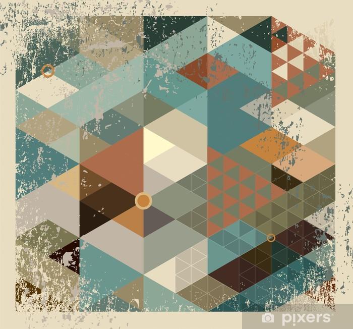 Papier peint vinyle Geometric background - Thèmes