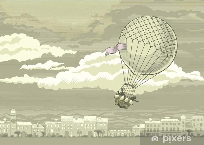 Papier peint vinyle Aérostat vol - Dans les airs