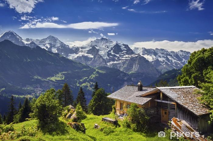 Zelfklevend Fotobehang Sulwald, Zwitserland - Buitensport