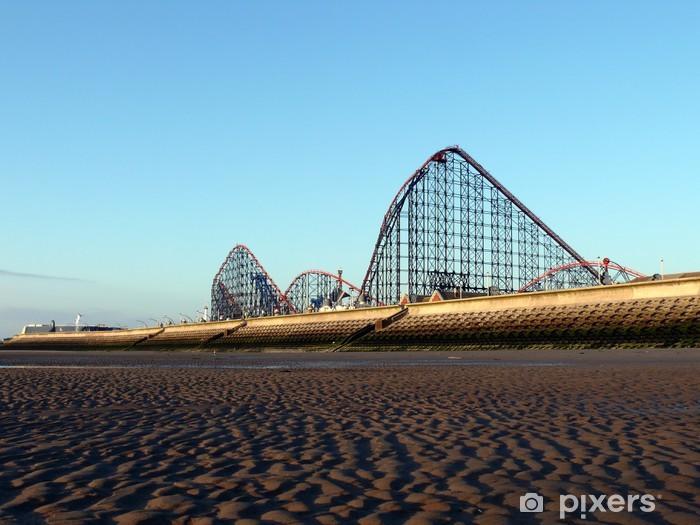 Fototapeta winylowa Blackpool Pleasure Beach - Wakacje