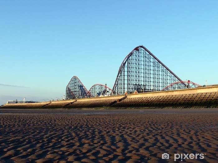 Naklejka Pixerstick Blackpool Pleasure Beach - Wakacje