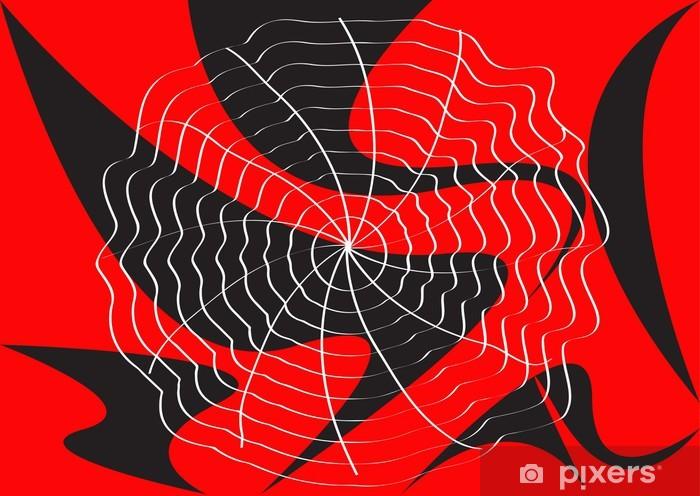 Sticker Pixerstick Toile d'araignée - Animaux imaginaires