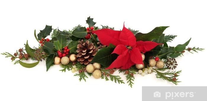 Adesivo Stella Di Natale Decorazione Floreale Pixers Viviamo Per Il Cambiamento