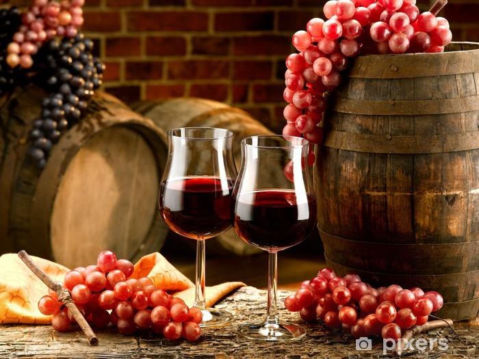 Naklejka Pixerstick Wino - Wino