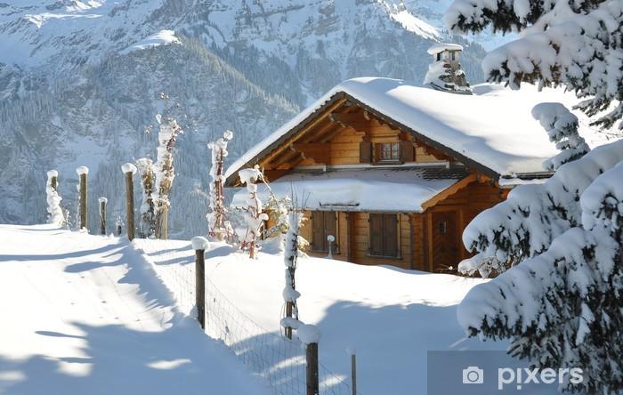 Naklejka Pixerstick Dekoracje Alpine - Góry
