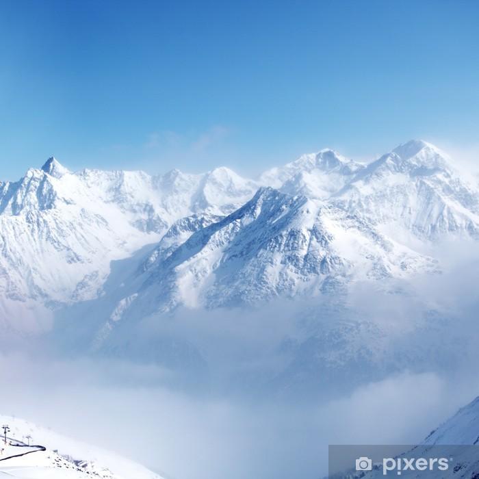 Pixerstick Sticker Top van de alpen - Stijlen