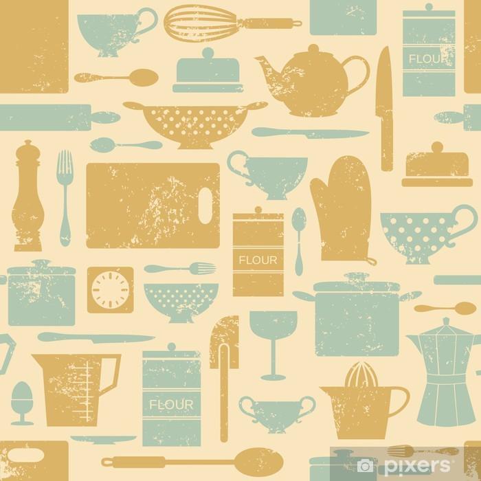 Papier Peint Vintage Fond De Cuisine Pixers Nous Vivons Pour