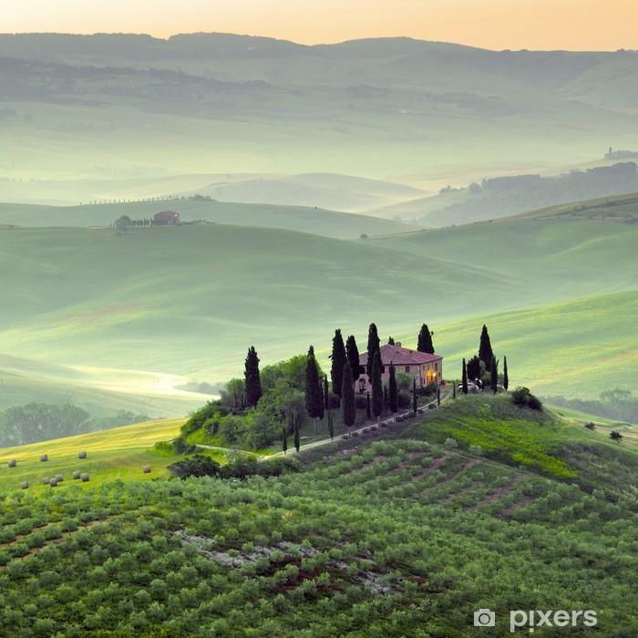 Toscana, paesaggio. Poster - Themes