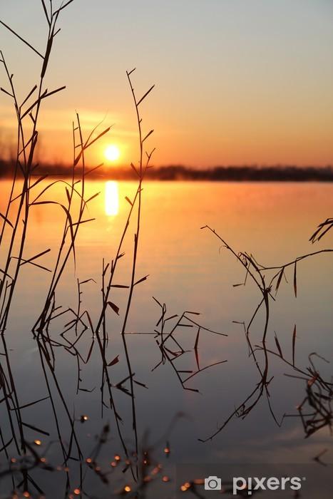 Fototapete Guten Morgen Winter