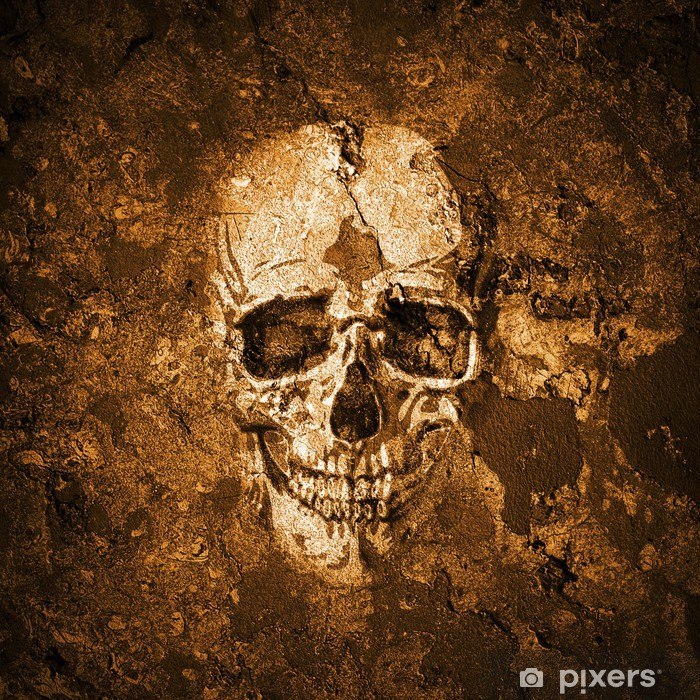 Sticker Pixerstick Fond de crâne - Fêtes internationales