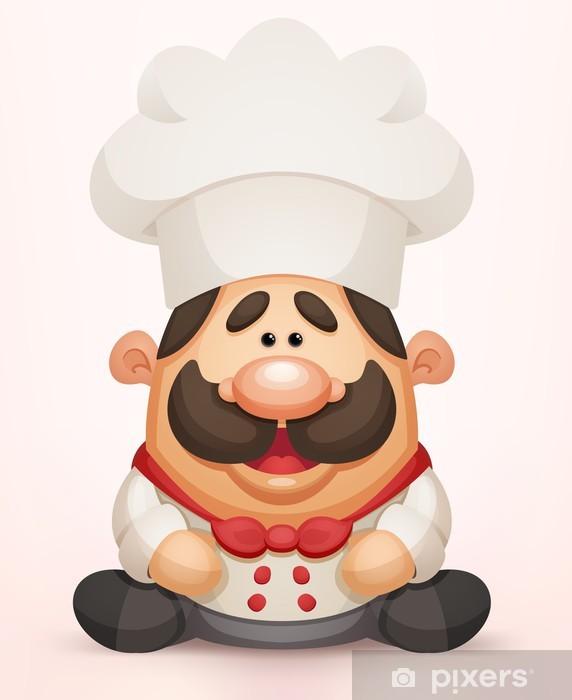 Carta da Parati Cartone animato cuoco • Pixers® - Viviamo per il ... 242d6e651728
