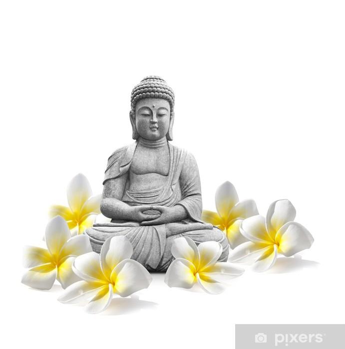 Pixerstick Sticker Boeddha en Welzijn - Religie