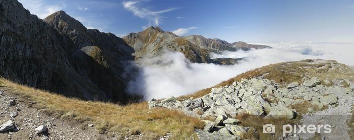 Papier peint vinyle Regard ouest de Jamnice sedlo en partie Ouest de montagnes Tatra - Europe