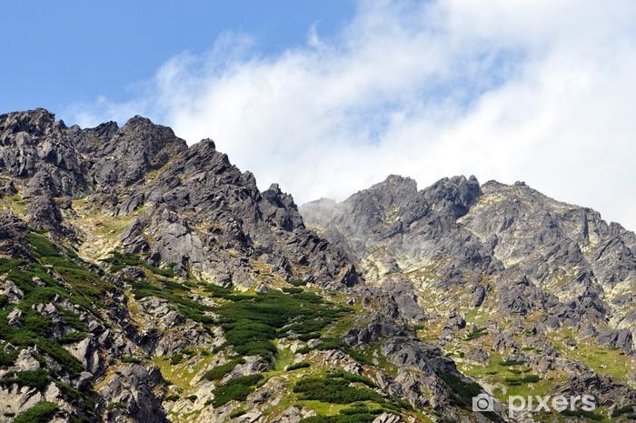 Papier peint vinyle Montagnes, Hautes Tatras, en Slovaquie - Thèmes