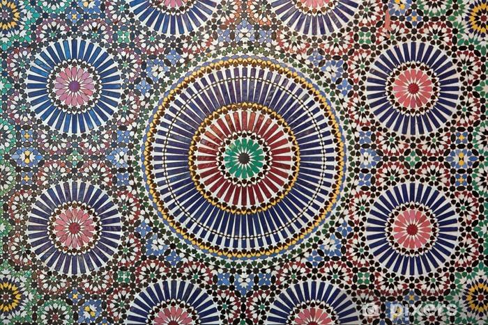 Nálepka Pixerstick Marocký tilework - Maroko