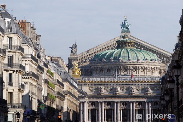 Fototapeta winylowa Paryż, Avenue de l'Opera - Miasta europejskie