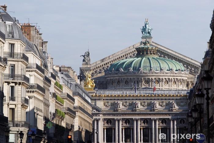 Papier peint vinyle Paris, avenue de l'Opéra - Villes européennes